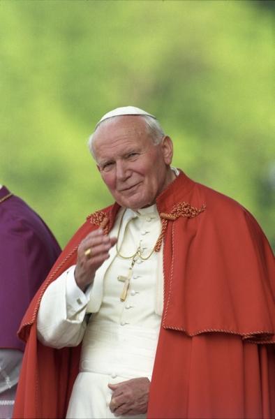 papież - na okno