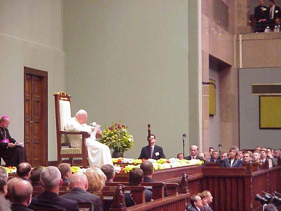 Paralament - papież